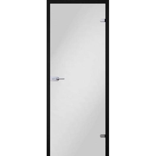 Стеклянная дверь белое стекло